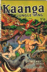 Cover Thumbnail for Kaänga Comics (Fiction House, 1949 series) #19