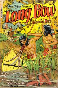 Cover Thumbnail for Long Bow (Fiction House, 1951 series) #7