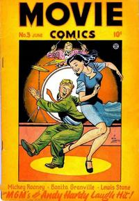 Cover Thumbnail for Movie Comics (Fiction House, 1946 series) #3