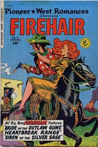 Cover Thumbnail for Pioneer West Romances (Fiction House, 1950 series) #3