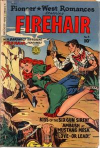 Cover Thumbnail for Pioneer West Romances (Fiction House, 1950 series) #4