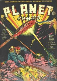 Cover Thumbnail for Planet Comics (Fiction House, 1940 series) #3