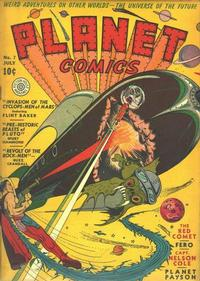 Cover Thumbnail for Planet Comics (Fiction House, 1940 series) #7