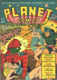 Cover Thumbnail for Planet Comics (Fiction House, 1940 series) #8