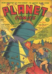 Cover Thumbnail for Planet Comics (Fiction House, 1940 series) #9