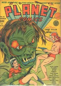 Cover Thumbnail for Planet Comics (Fiction House, 1940 series) #11