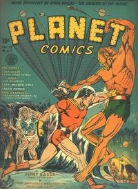 Cover Thumbnail for Planet Comics (Fiction House, 1940 series) #12