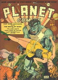 Cover Thumbnail for Planet Comics (Fiction House, 1940 series) #13