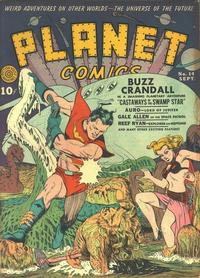 Cover Thumbnail for Planet Comics (Fiction House, 1940 series) #14