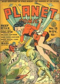 Cover Thumbnail for Planet Comics (Fiction House, 1940 series) #15