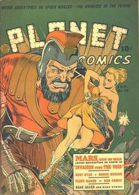 Cover Thumbnail for Planet Comics (Fiction House, 1940 series) #16