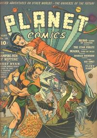 Cover Thumbnail for Planet Comics (Fiction House, 1940 series) #18