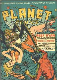Cover Thumbnail for Planet Comics (Fiction House, 1940 series) #19