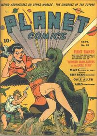 Cover Thumbnail for Planet Comics (Fiction House, 1940 series) #20