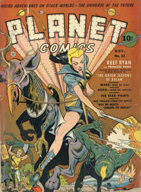 Cover Thumbnail for Planet Comics (Fiction House, 1940 series) #21