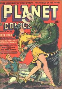 Cover Thumbnail for Planet Comics (Fiction House, 1940 series) #23