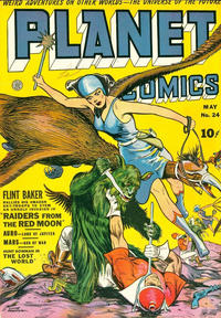 Cover Thumbnail for Planet Comics (Fiction House, 1940 series) #24