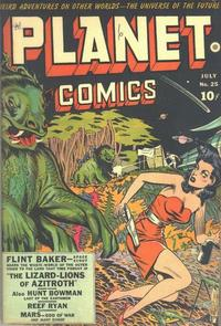 Cover Thumbnail for Planet Comics (Fiction House, 1940 series) #25