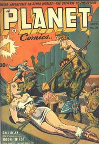 Cover Thumbnail for Planet Comics (Fiction House, 1940 series) #26