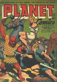 Cover Thumbnail for Planet Comics (Fiction House, 1940 series) #28