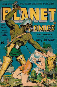 Cover Thumbnail for Planet Comics (Fiction House, 1940 series) #30