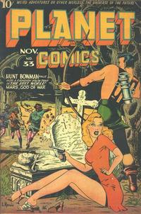 Cover Thumbnail for Planet Comics (Fiction House, 1940 series) #33