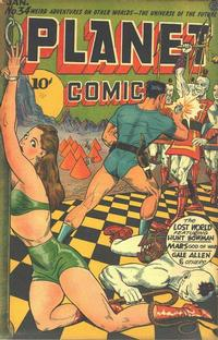 Cover Thumbnail for Planet Comics (Fiction House, 1940 series) #34