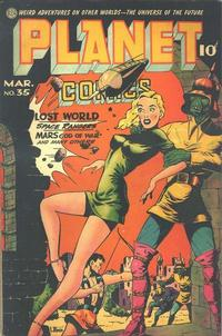 Cover Thumbnail for Planet Comics (Fiction House, 1940 series) #35