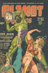 Cover Thumbnail for Planet Comics (Fiction House, 1940 series) #36