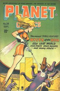 Cover Thumbnail for Planet Comics (Fiction House, 1940 series) #38
