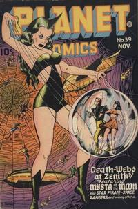 Cover Thumbnail for Planet Comics (Fiction House, 1940 series) #39