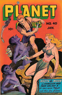 Cover Thumbnail for Planet Comics (Fiction House, 1940 series) #40
