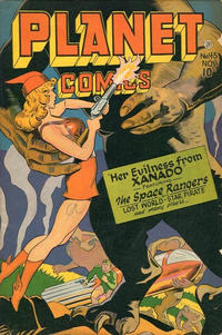 Cover Thumbnail for Planet Comics (Fiction House, 1940 series) #45