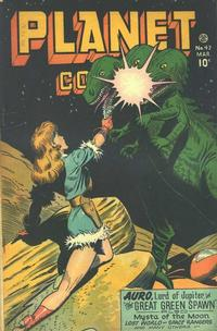 Cover Thumbnail for Planet Comics (Fiction House, 1940 series) #47