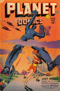 Cover Thumbnail for Planet Comics (Fiction House, 1940 series) #48