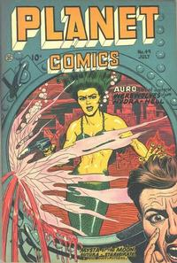 Cover Thumbnail for Planet Comics (Fiction House, 1940 series) #49