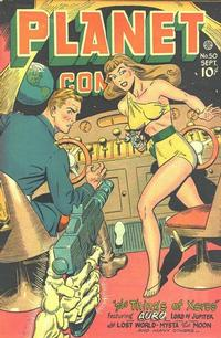 Cover Thumbnail for Planet Comics (Fiction House, 1940 series) #50