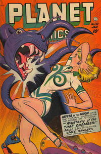 Cover Thumbnail for Planet Comics (Fiction House, 1940 series) #52