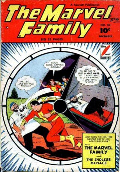 Cover for The Marvel Family (Fawcett, 1945 series) #42