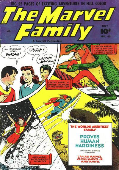 Cover for The Marvel Family (Fawcett, 1945 series) #49