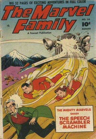 Cover for The Marvel Family (Fawcett, 1945 series) #50