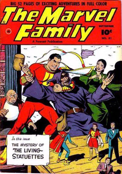 Cover for The Marvel Family (Fawcett, 1945 series) #51