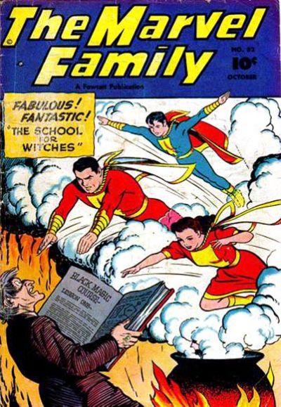 Cover for The Marvel Family (Fawcett, 1945 series) #52