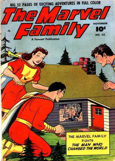 Cover for The Marvel Family (Fawcett, 1945 series) #53
