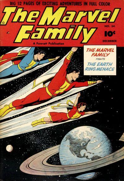 Cover for The Marvel Family (Fawcett, 1945 series) #54