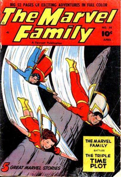 Cover for The Marvel Family (Fawcett, 1945 series) #58