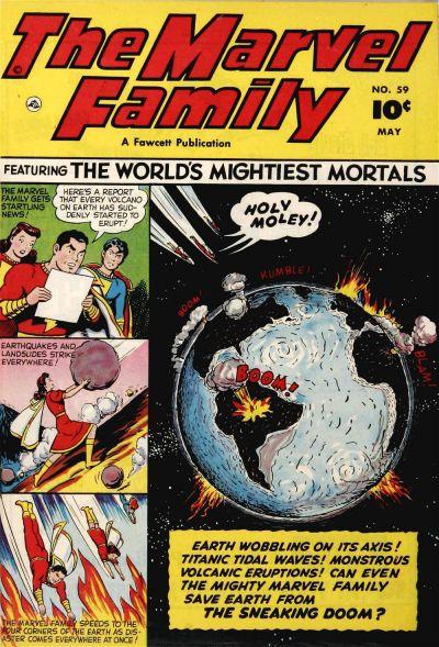 Cover for The Marvel Family (Fawcett, 1945 series) #59