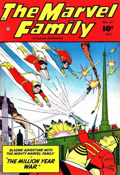 Cover for The Marvel Family (Fawcett, 1945 series) #61