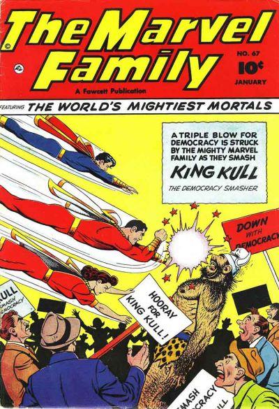 Cover for The Marvel Family (Fawcett, 1945 series) #67
