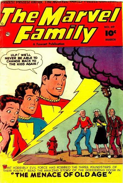 Cover for The Marvel Family (Fawcett, 1945 series) #69